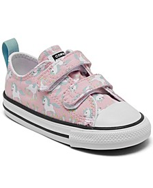 Toddler Girls Chuck Taylor Unicorn 2V Stay-Put Casual Sneakers from Finish Line