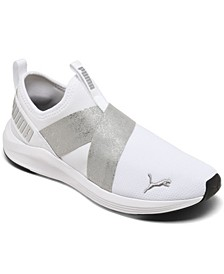 Women's Prowl Metallic Slip-on Casual Sneakers from Finish Line