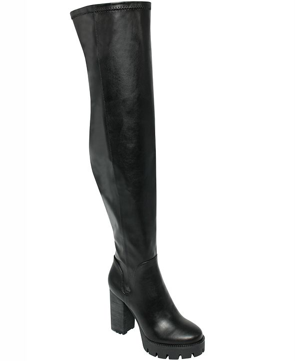 CHARLES by Charles David Women's Warning Over-the-Knee Boots