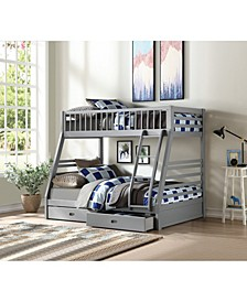 Jason Twin Over Full Bunk Bed with Storage