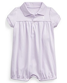 Baby Girls Interlock Bubble Shortall
