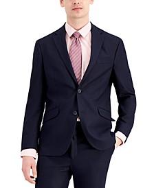 Men's Techni-Cole Suit Separate Slim-Fit Jacket