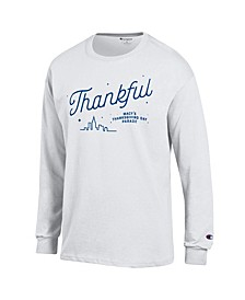 Adult Long Sleeve T-Shirt White, Created for Macy's