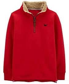 Carters Little Boy Half-Zip Fleece Pullover