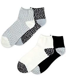 4-Pk. Cloud 9 Seriously Soft Fluffy Mid Crew Socks