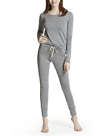 Women's Top with Legging Loungewear Set