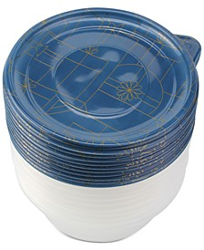 Cook with Color Holiday 20-Pc. Food Storage Container Set