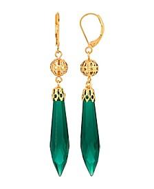 Women's 14K Gold Dipped Drop Earring