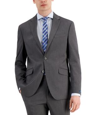 Men's Techni-Cole Light Gray Suit Separate Slim Fit Jacket