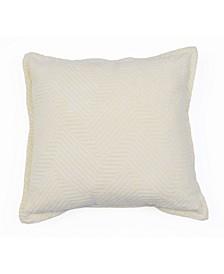 """Rhea Woven Pillow, 18"""" x 18"""""""