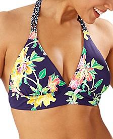 Sunlillies Reversible Halter Bikini Top