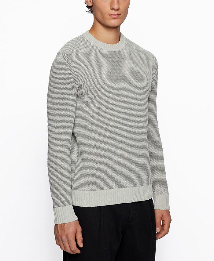 Hugo Boss - Men's Amois Regular-Fit Sweater