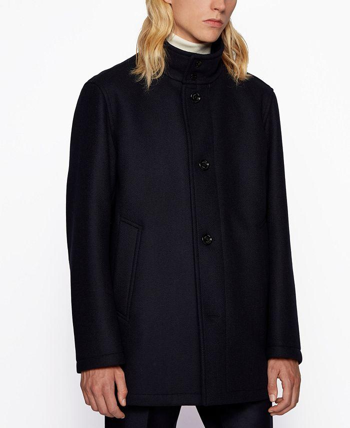 Hugo Boss - Men's Coxtan9 Regular-Fit Coat