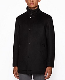 BOSS Men's Camron3 Regular-Fit Coat