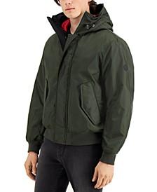 Men's Contrast-Lined Bomber Jacket