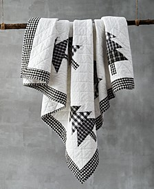 Tree Patchwork Quilted Throw, Created for Macy's
