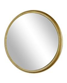 Modern Extra Large Aluminum Cast Mirror