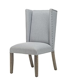 Wooden Cosmopolitan Side Chair Set of 2