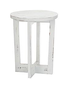Wooden Loft Nesting Table Smaller Circular