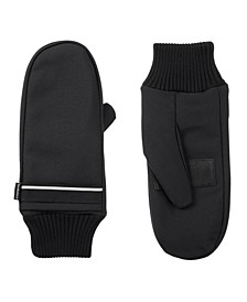 Women's Lined Water Repellent Pocket Touch Screen Mittens Gloves
