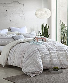 Marvelous Anahita Dot 5 Piece Comforter Set, Full/Queen