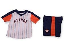 Houston Astros Toddler Lineup Short Set