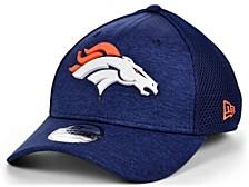 Denver Broncos Shadow Tech Rubber Neo 39THIRTY Cap