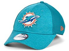 Miami Dolphins Shadow Tech Rubber Neo 39THIRTY Cap