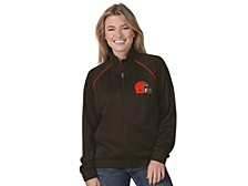 Cleveland Browns Women's Power Play Track Jacket