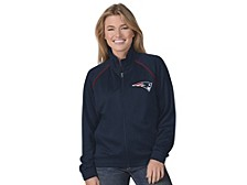 New England Patriots Women's Power Play Track Jacket