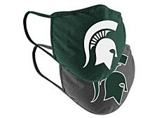 Michigan State Spartans 2pack Face Mask