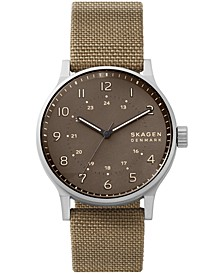 Men's Norre Khaki Cordura Nato Strap Watch 42mm