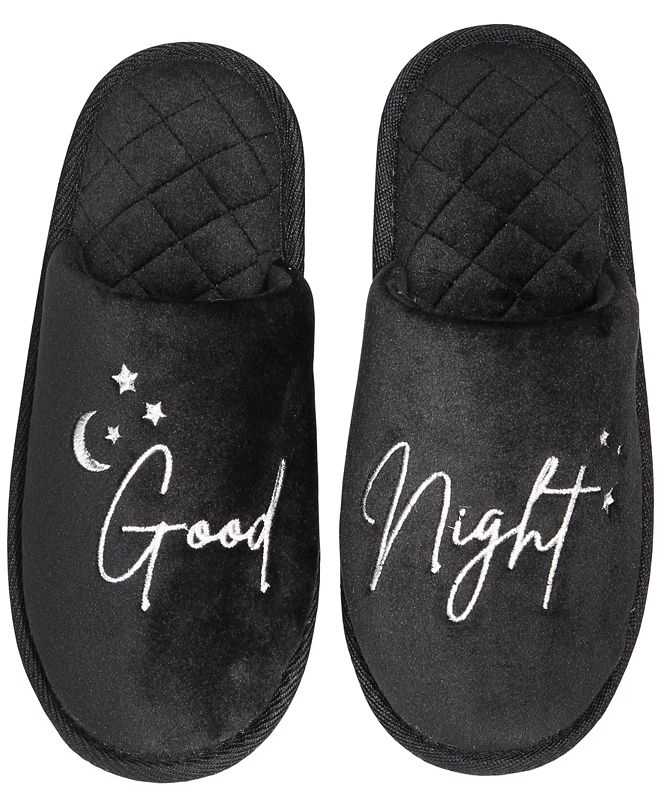 Jenni Women's Good Night Slippers, Created for Macy's