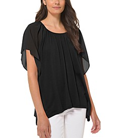 Scoop-Neckline Top, Regular & Petite Sizes