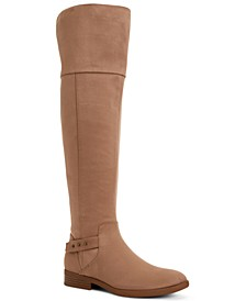 Lessah Wide-Calf Over-The-Knee Boots, Created for Macy's