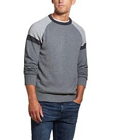 Men's Colorblock Crew Neck Sweater