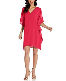 Split-Sleeve Caftan Dress