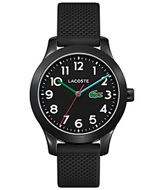 Kid's 12.12 Black Silicone Strap Watch 32mm