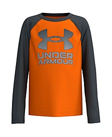 Toddler Boys Symbol Raglan Long Sleeve T-shirt