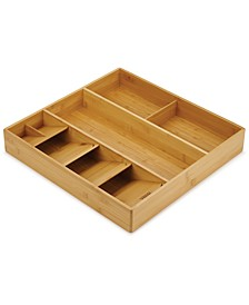 DrawerStore™ Bamboo Cutlery, Utensil & Gadget Organizer