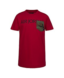 Little Boys Jumpman Classics Logo Pocket T-Shirt