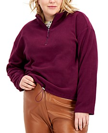 Trendy Plus Size Polar Fleece