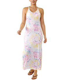 Juniors' V-Neck Maxi Cover-Up Dress, Created for Macy's