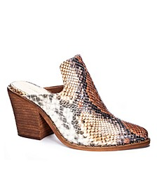 Springfield Women's Block Heel Mules