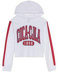 Juniors Coca-Cola Graphic Print Hoodie