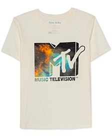 Juniors Graphic Print MTV T-Shirt