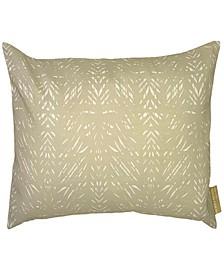 """Batik Lumbar Pillowcase, 12"""" x 20"""""""