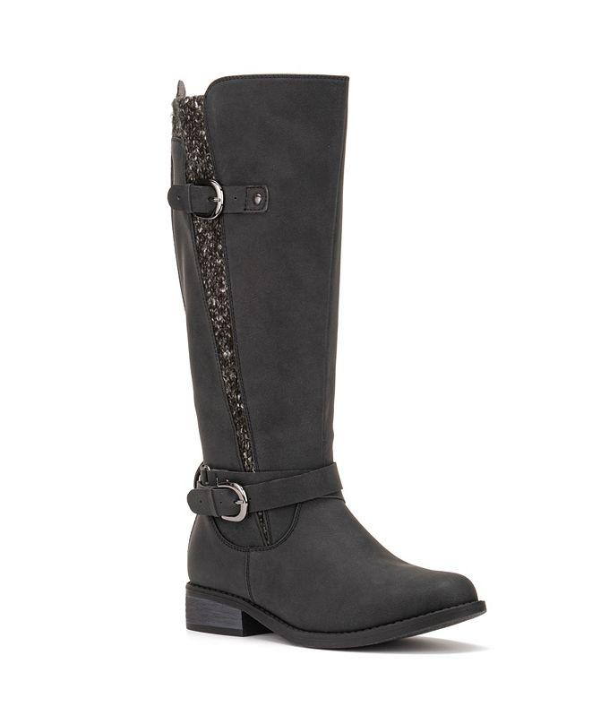 Olivia Miller Oliva Miller Women's Wide Calf Sherry Boots