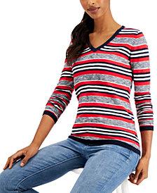 Tommy Hilfiger Cotton Striped Sweater