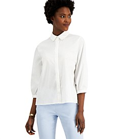 Pleat-Back Blouse, Created for Macy's
